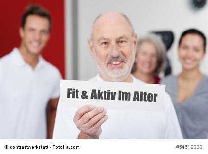 fit und aktiv im alter